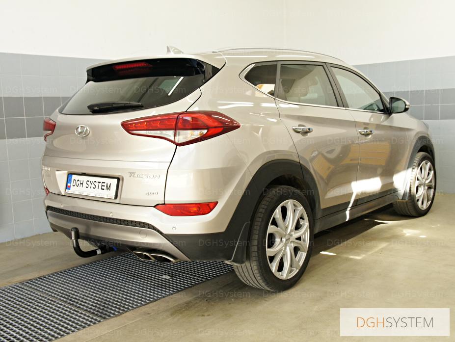 Hyundai TUCSON TLE 15-18 Anhängekupplung AHK starr 13p SPEZ
