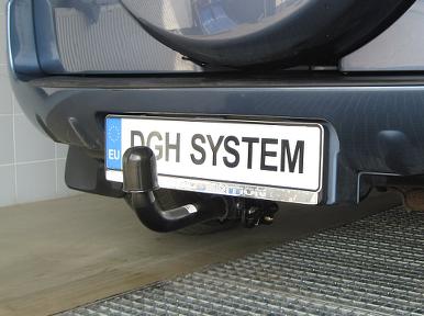 Gancio di traino estraibile Toyota RAV-4 con ruota 5 porte 06-08 kit elettr 7p