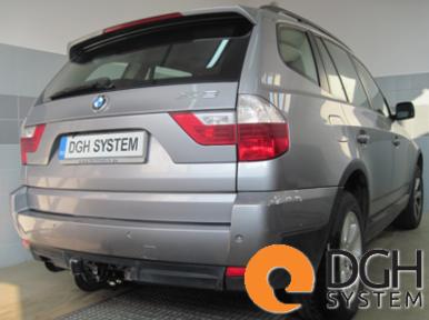 Gancio traino fisso BMW X3 E83 2004-2010
