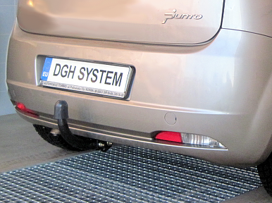 Fiat Grande Punto Evo dal 2005 gancio di traino fisso