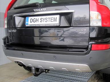 Detachable towbar Volvo XC90 2003 onwards universal electric kit